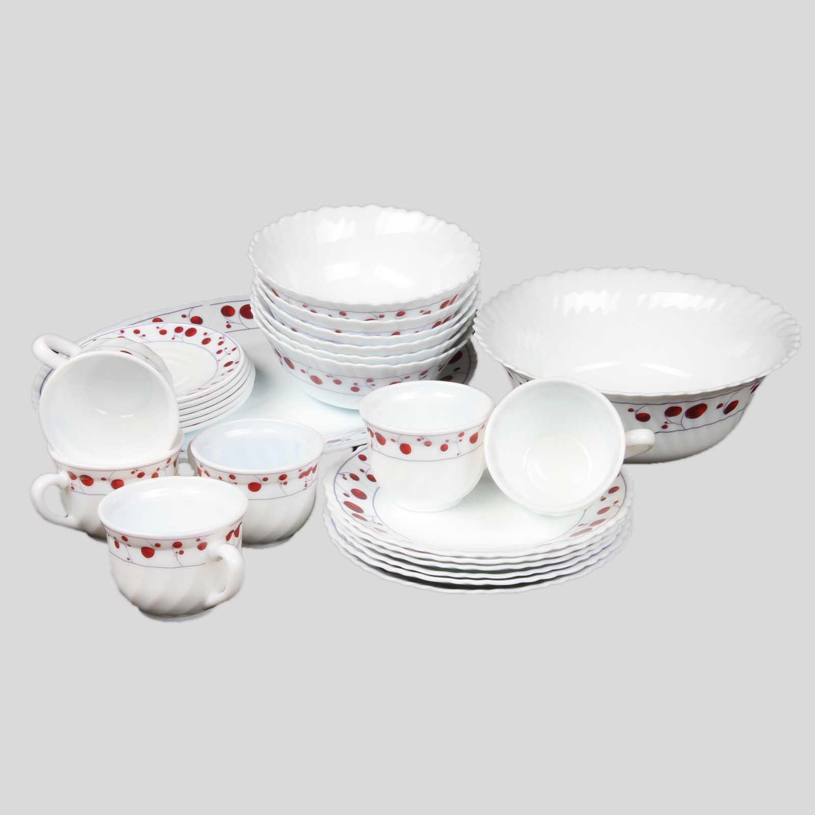 Набор столовой посуды «Алая ягода»
