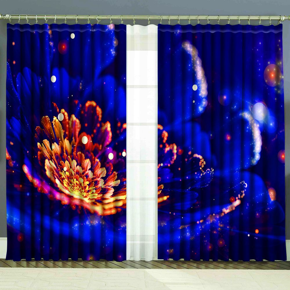 Комплект штор + тюль «Светлячки»