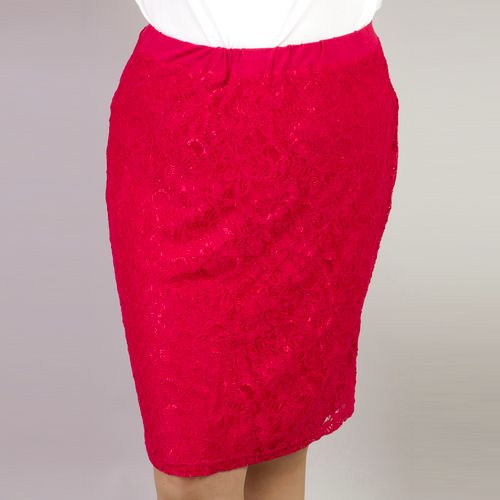 Ажурная юбка с подкладкой