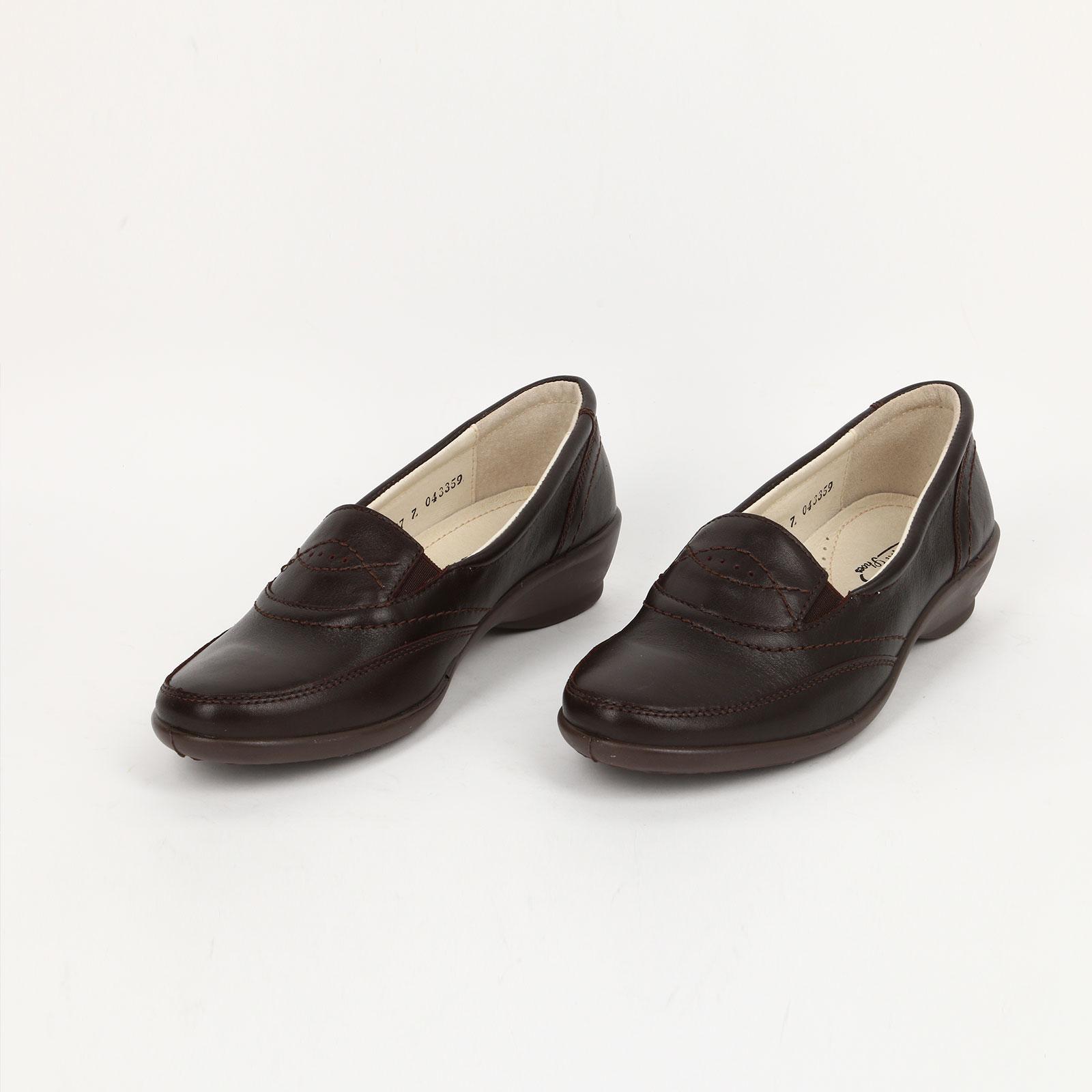 Ботинки женские с прострочкой