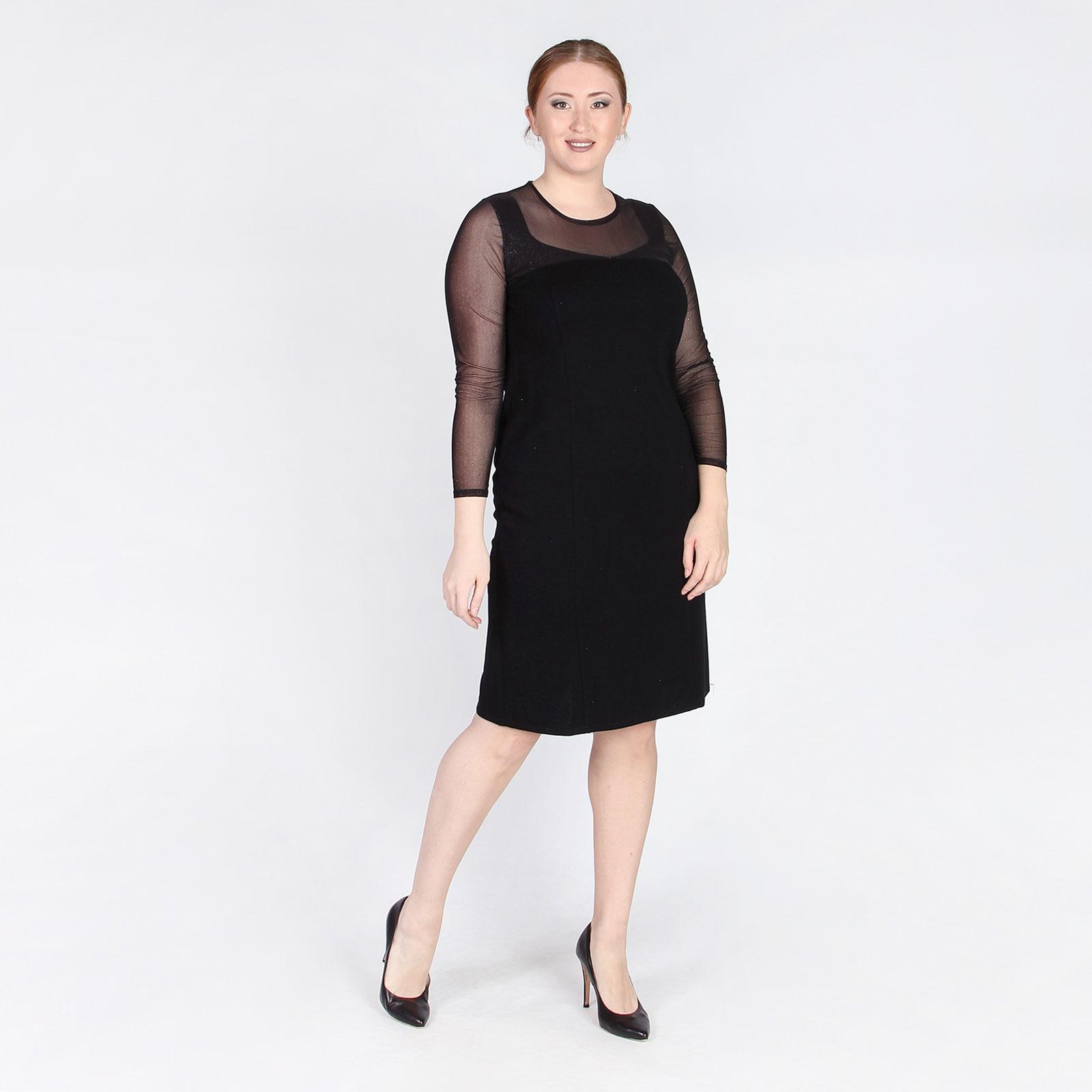 Платье с мерцающим верхом