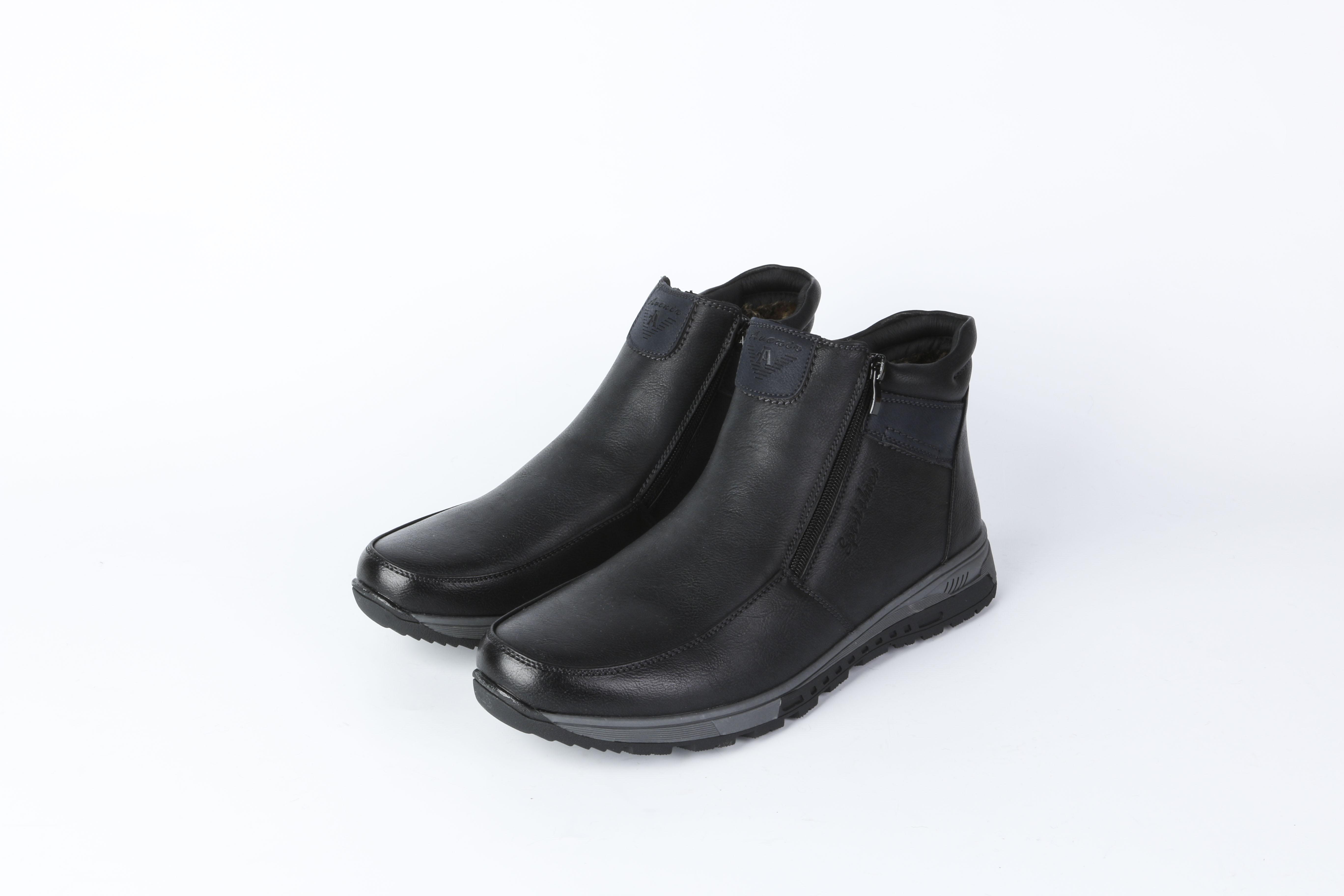 Ботинки мужские на молнии