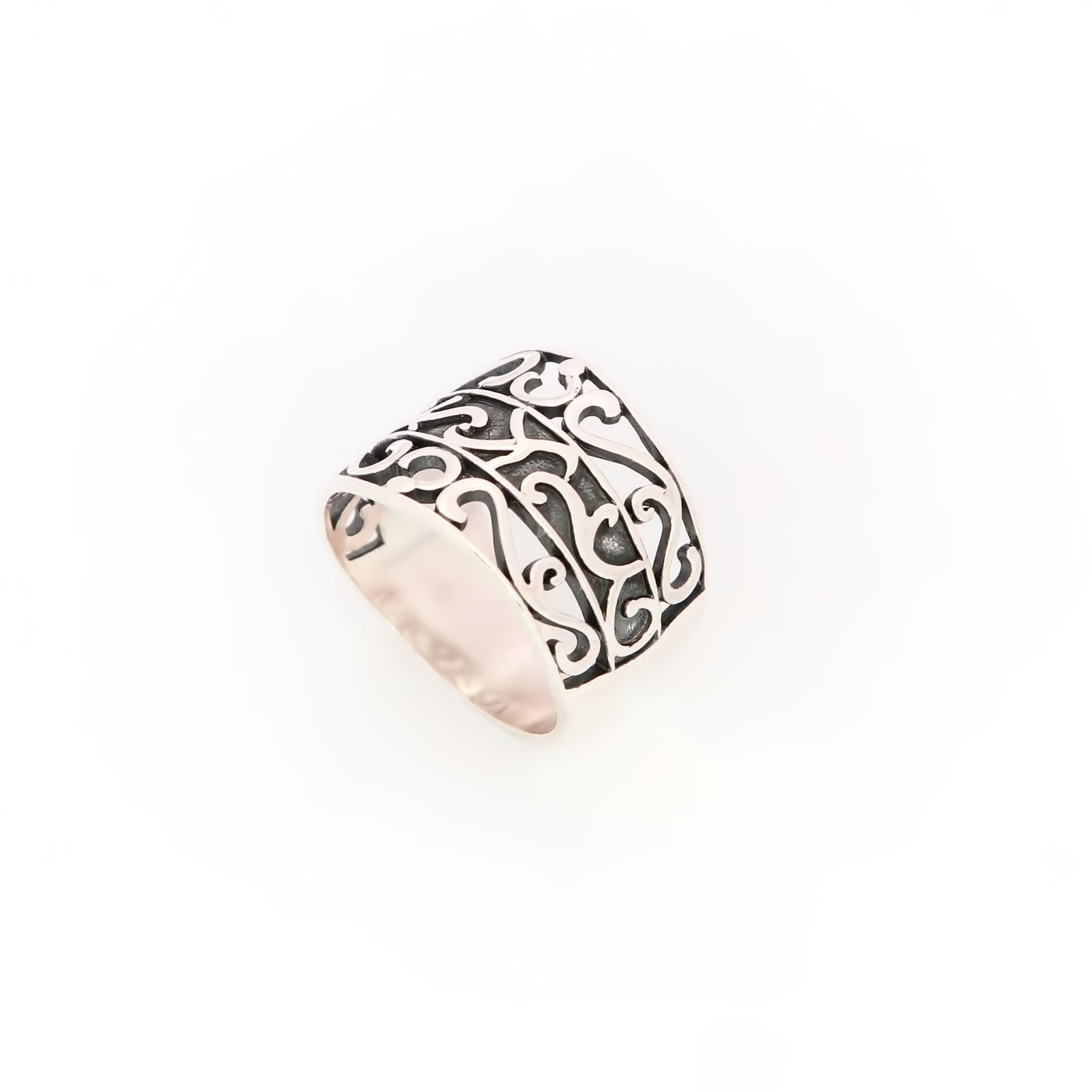 Серебряное кольцо «Серафима»