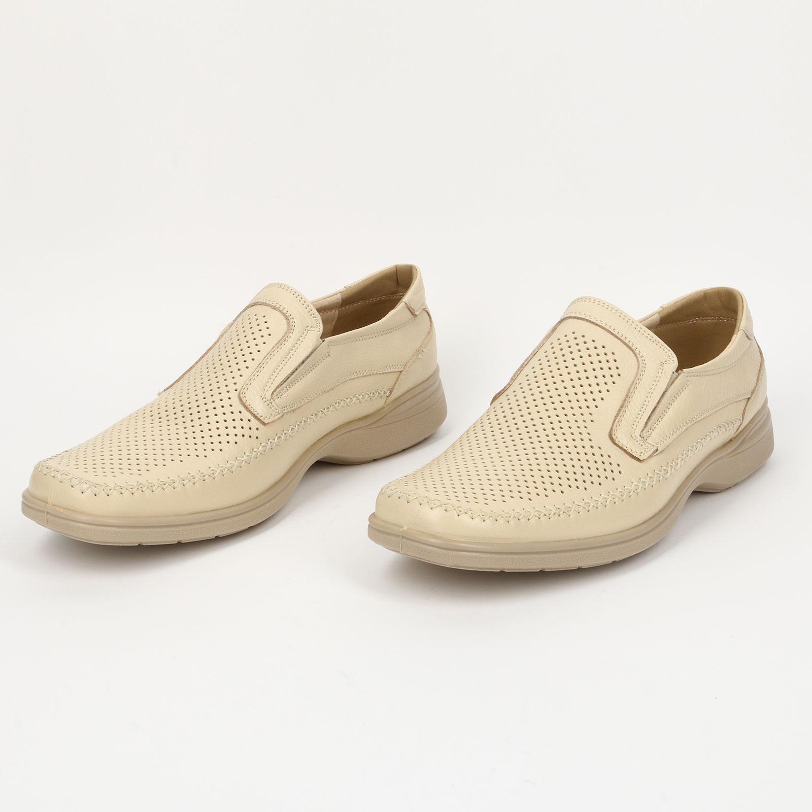 Туфли мужcкие с перфорацией
