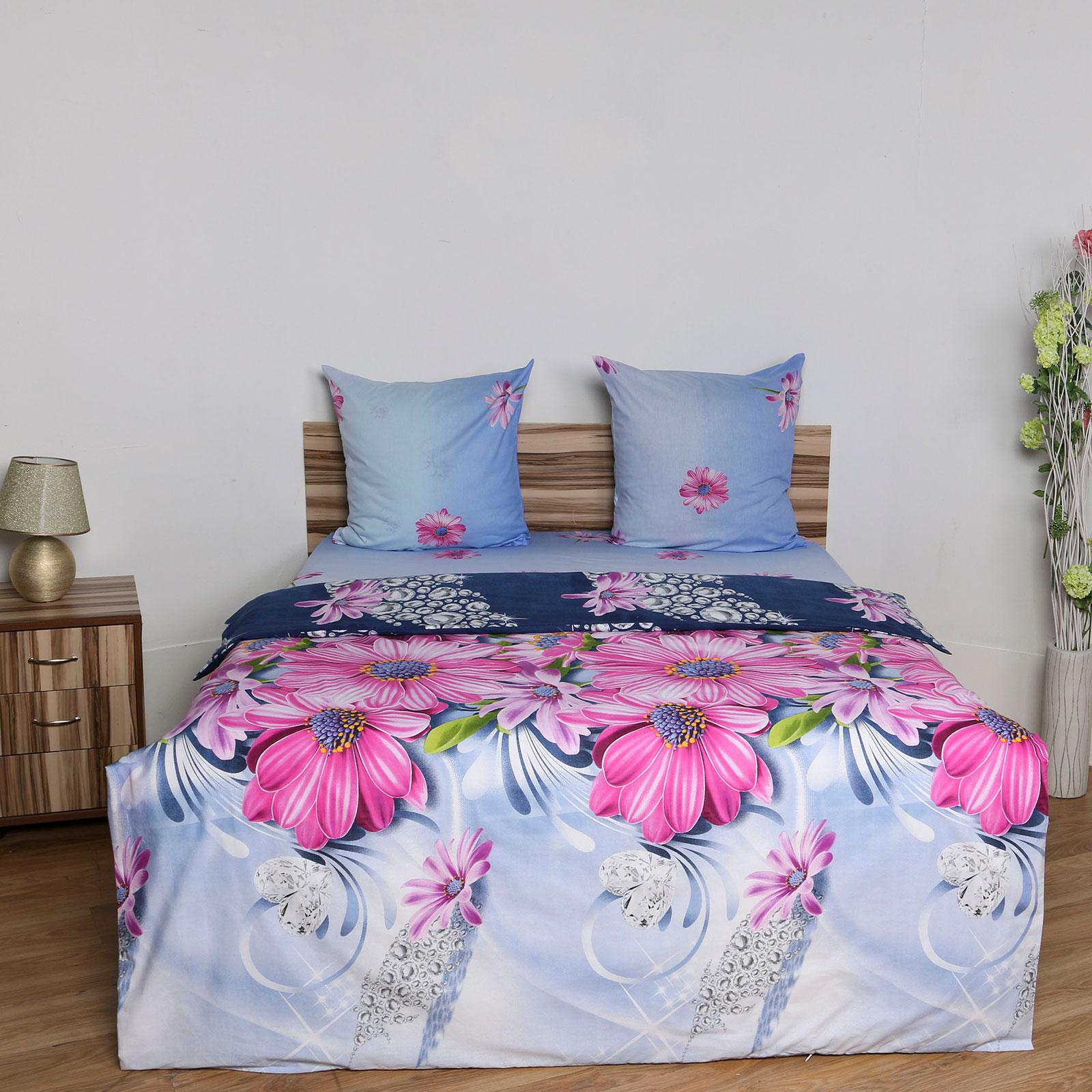 Комплект постельного белья «Драгоценные цветы»