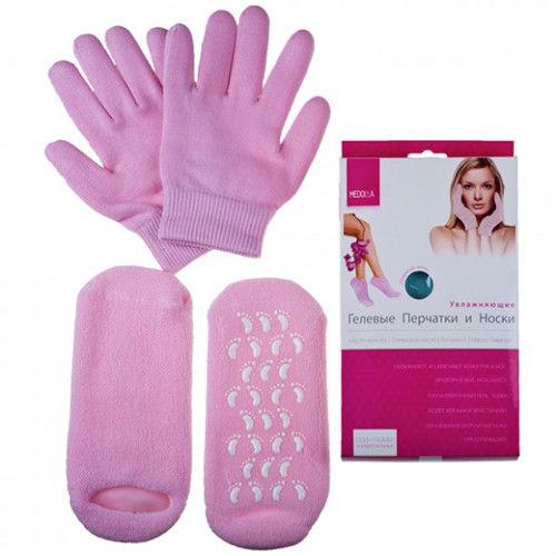 Комплект увлажняющих перчаток и носков