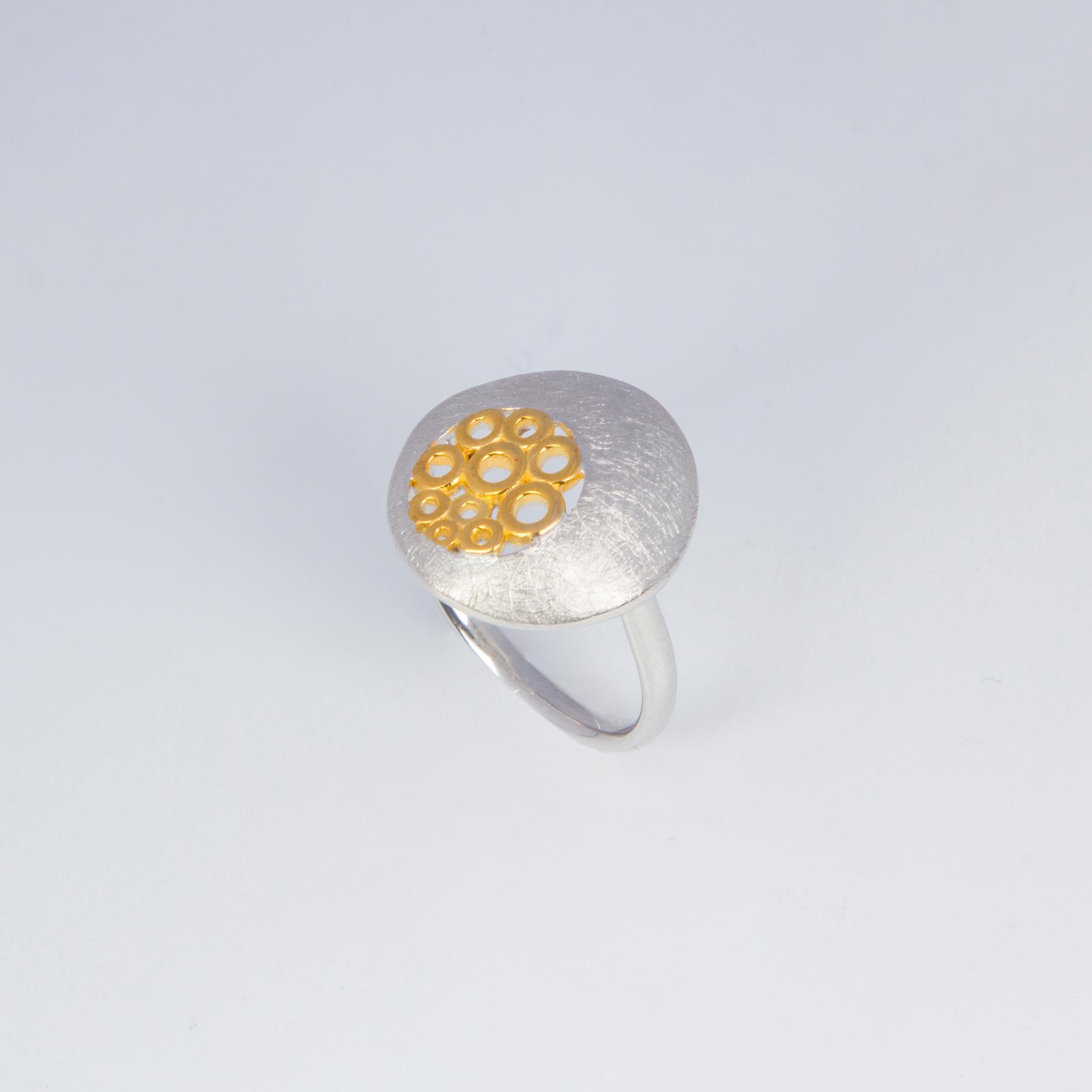 Кольцо «Золотой снег»