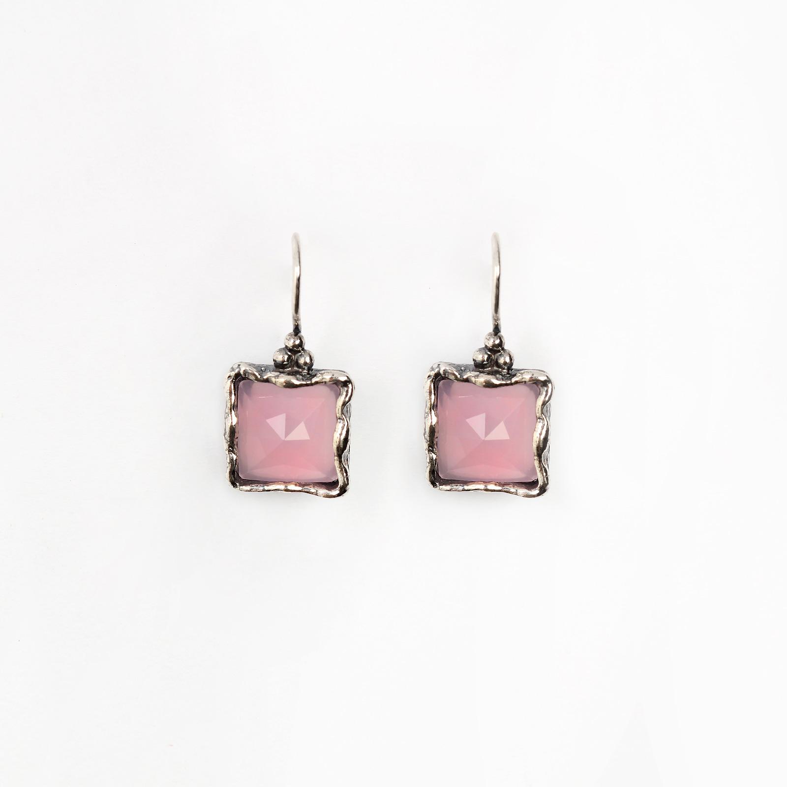 Серебряные серьги «Прекрасная маркиза»
