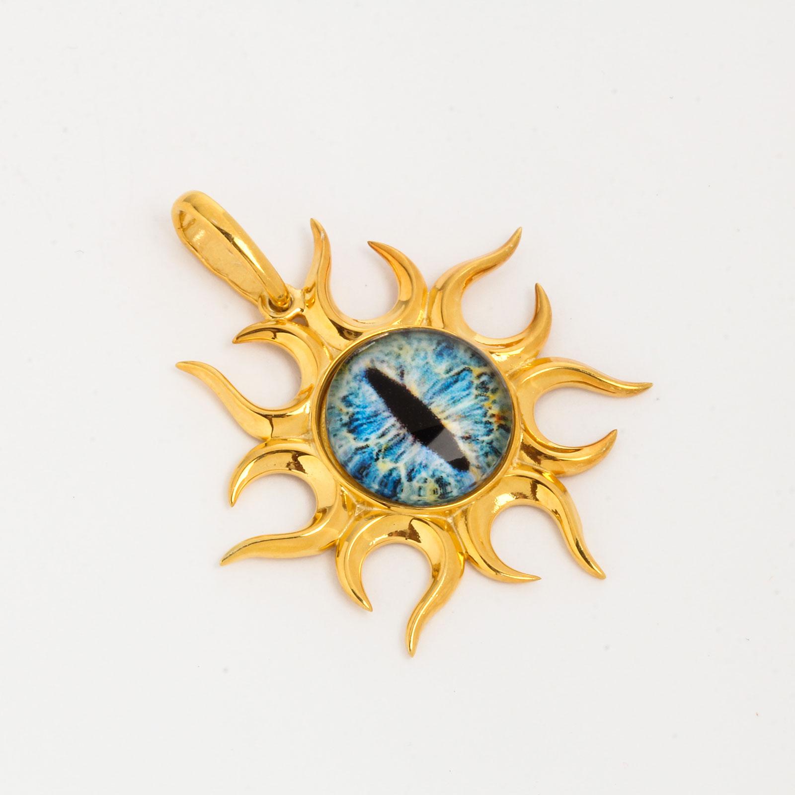 Серебряный амулет «Под защитой солнца»