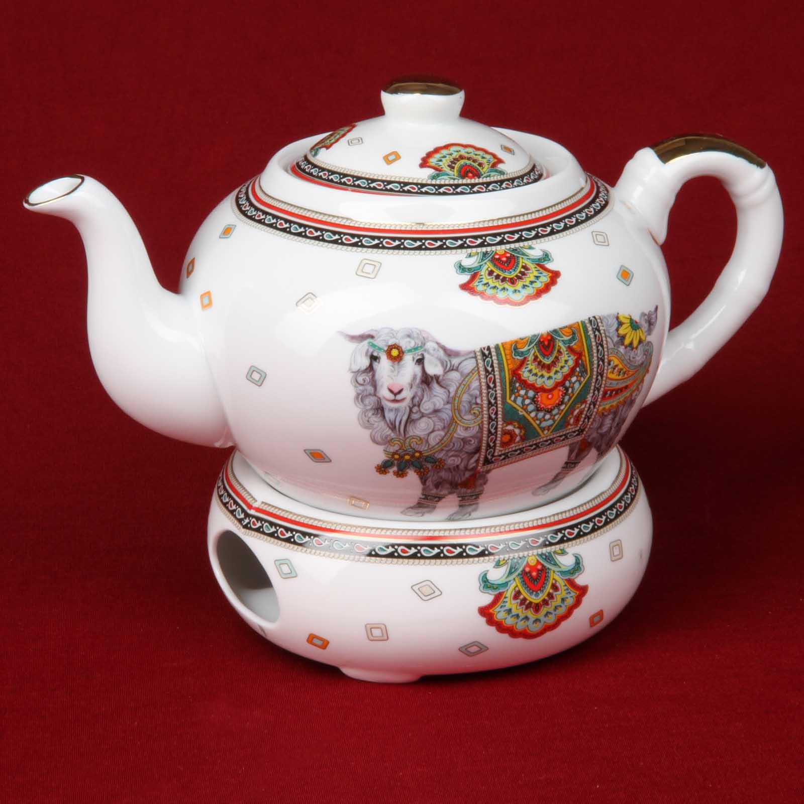 """Чайник с подогревом """"Восточные краски"""",1 литр"""