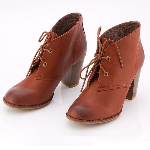 Ботинки на шнурках «Элизабет»