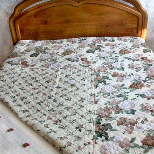Плед-одеяло «Цветочный сад»