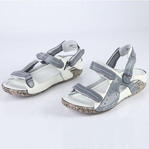 Женские сандалии на регулируемых ремешках