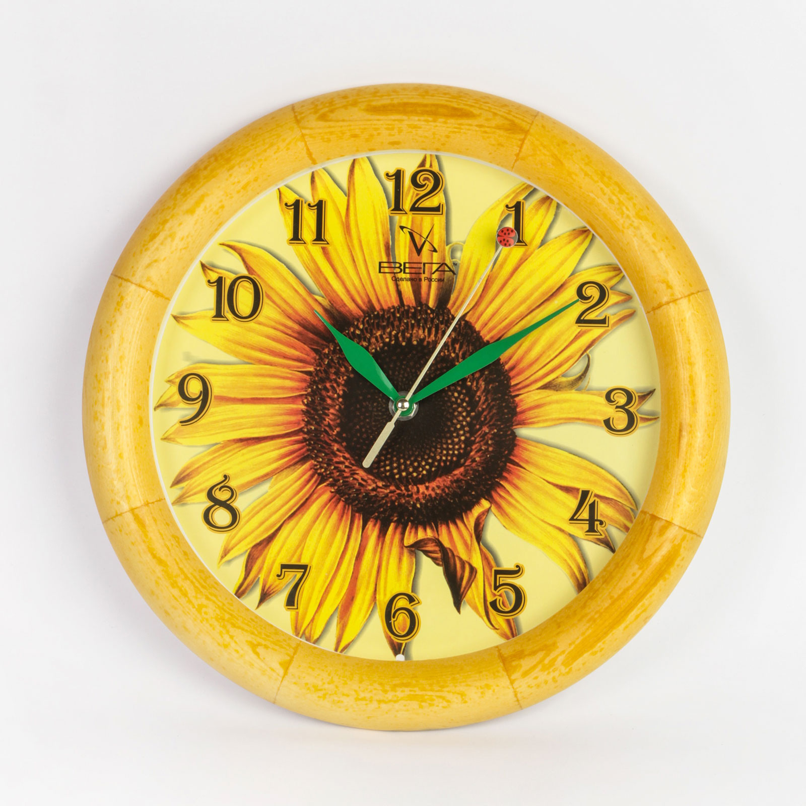 Часы настенные «Цветок солнца»