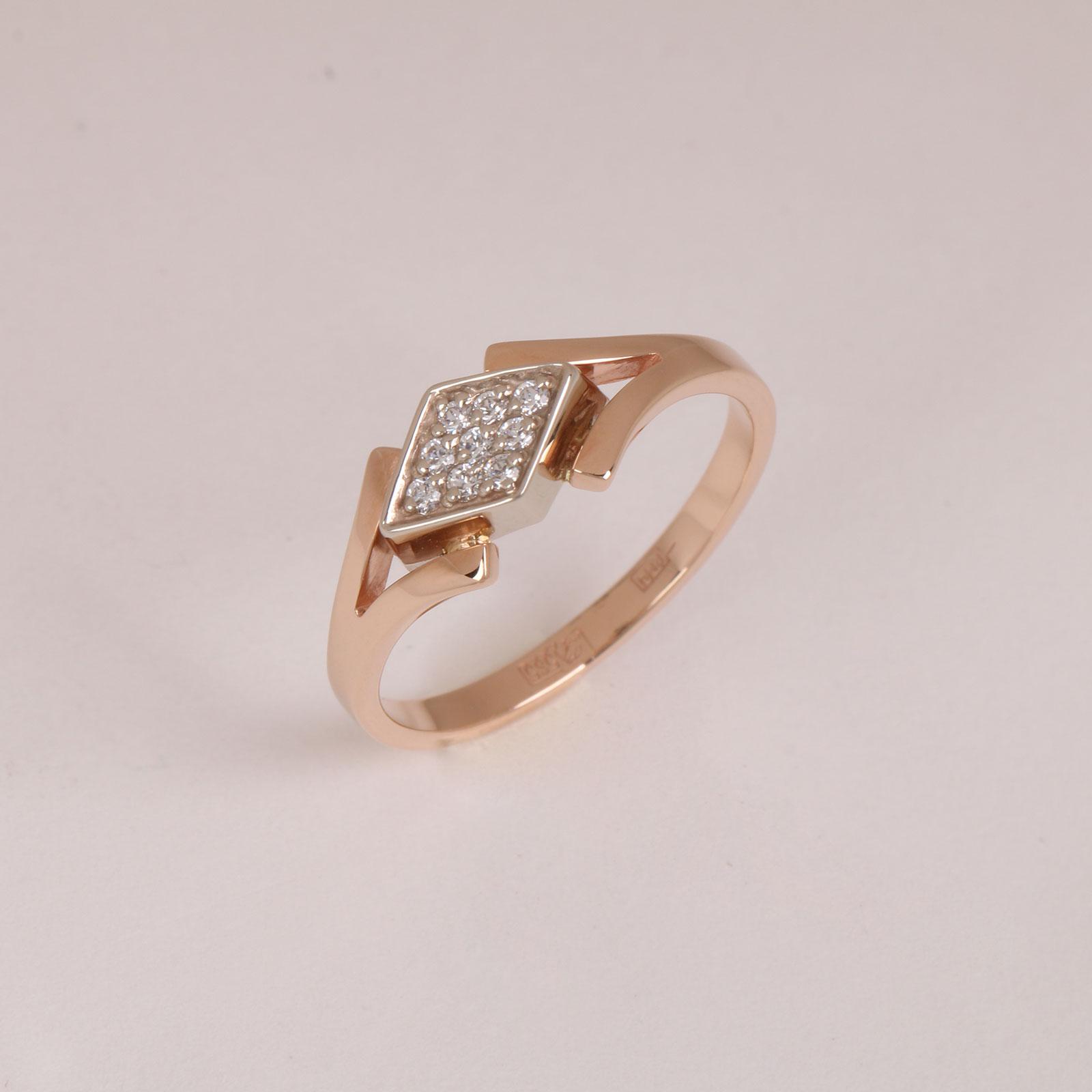 Золотое кольцо «Адель»