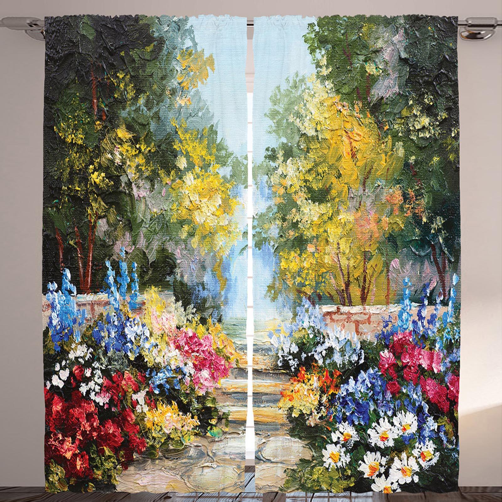Комплект штор «Цветочная аллея»
