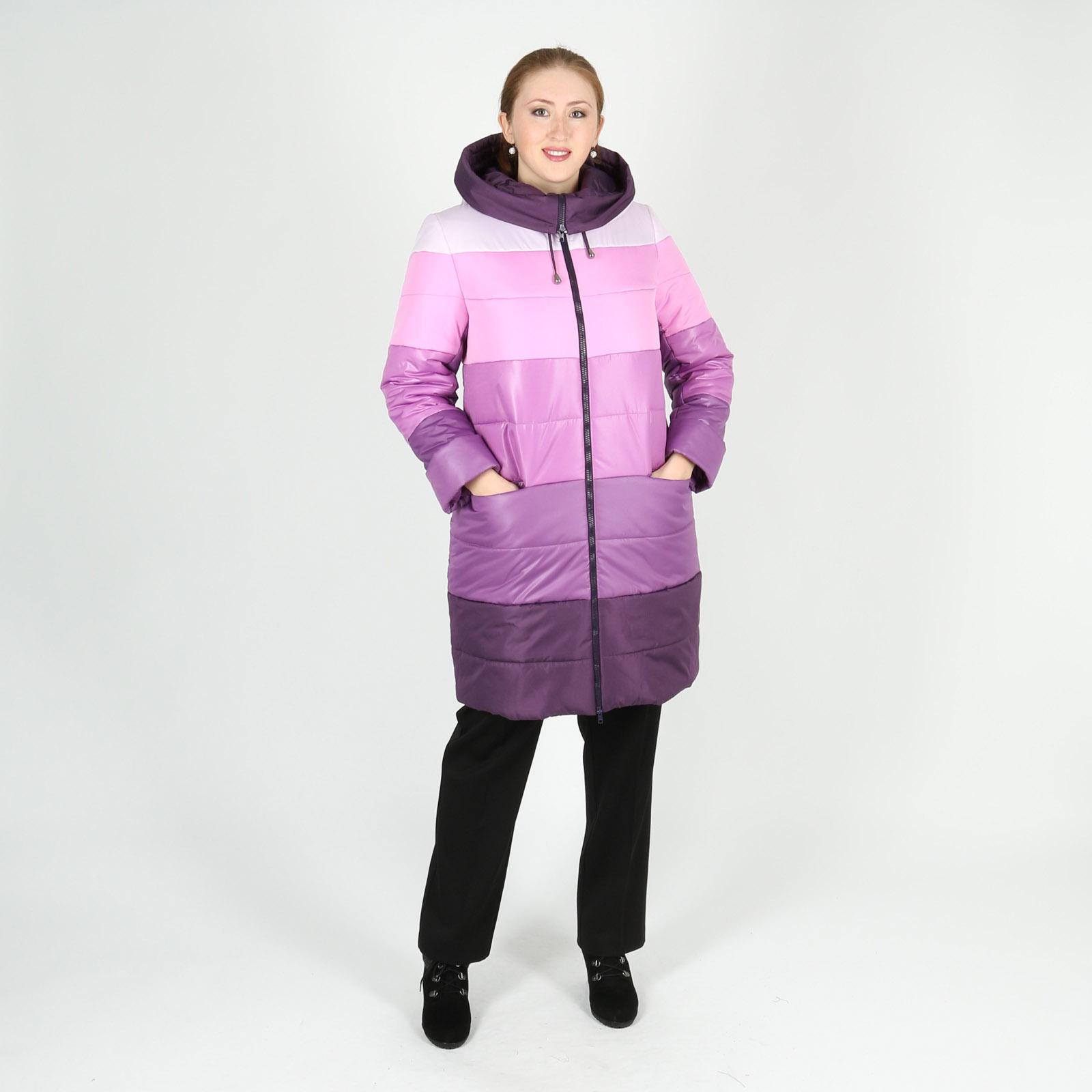 Куртка оригинального дизайна на молнии