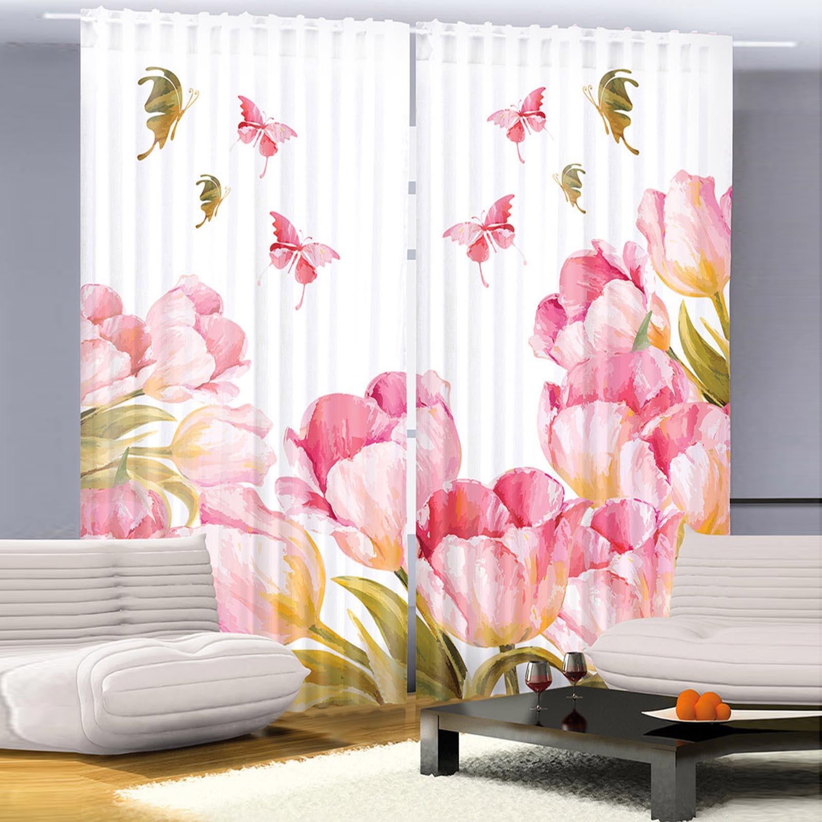 Комплект штор «Тюльпановый рай»