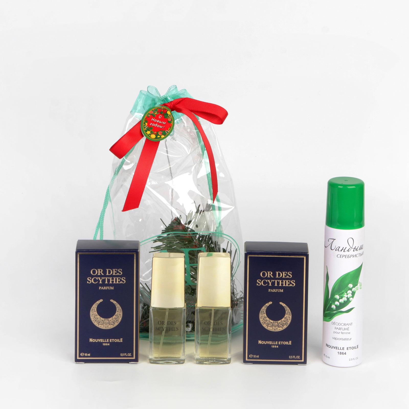Подарочный набор духов «Злато скифов» 2 шт. + дезодорант!