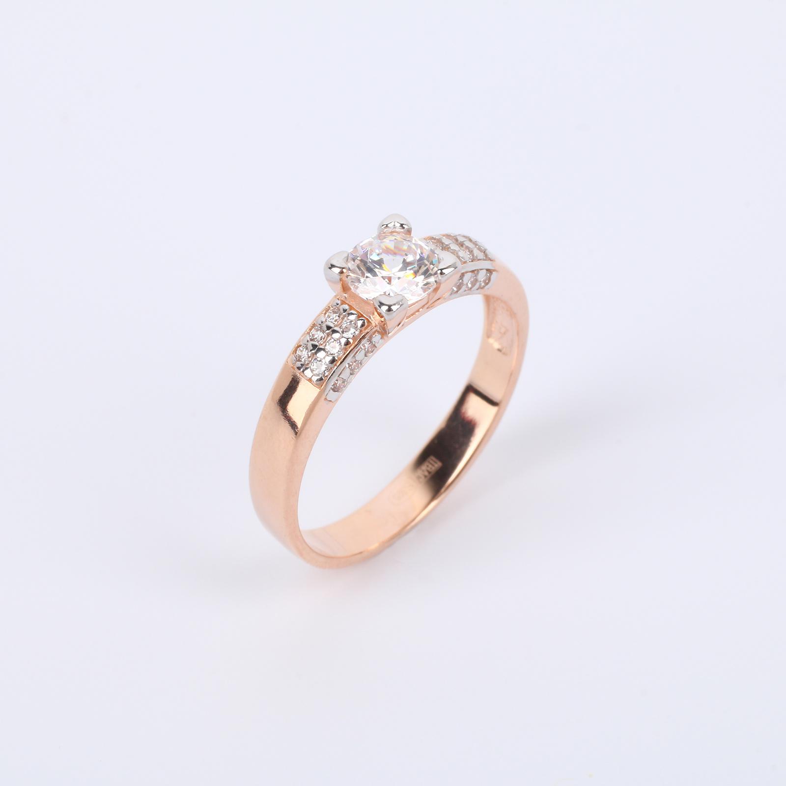 """Серебряное кольцо """"Бриллиантовый блеск"""""""