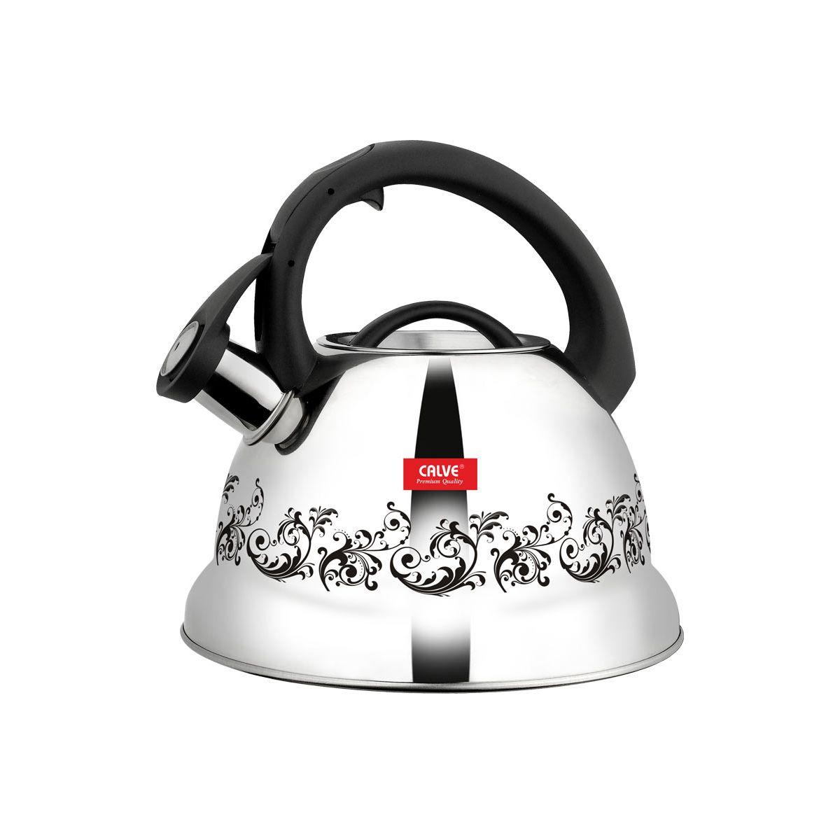 Чайник со свистком и термоузором «Изысканный»
