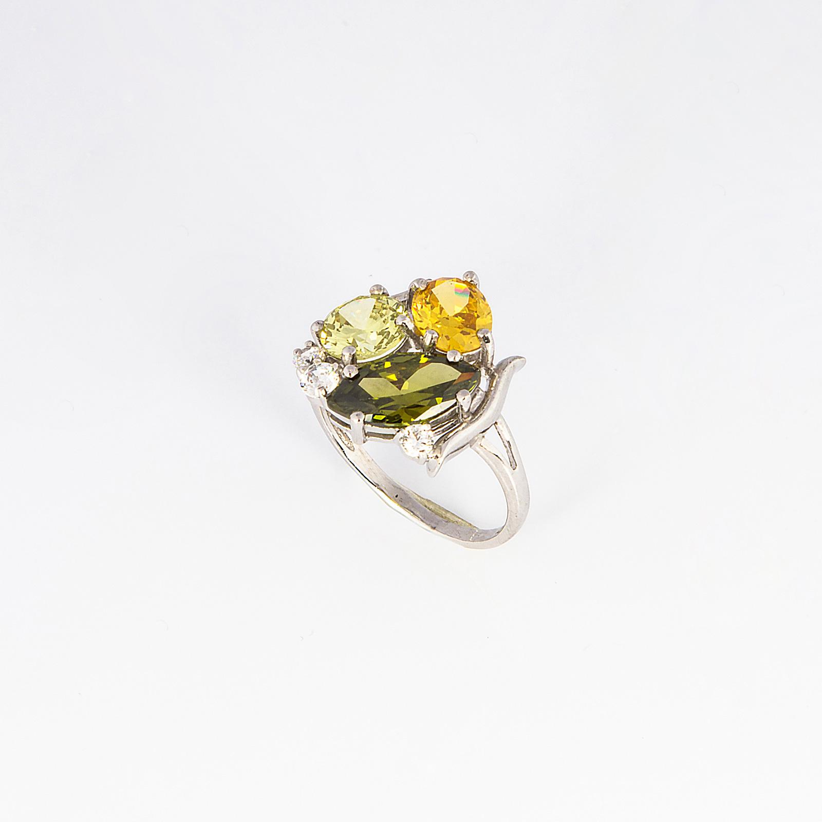 Серебряное кольцо «Барбарис»