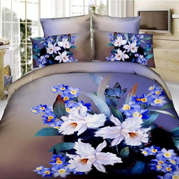 Комплект постельного белья «Сапфировый нарцисс»