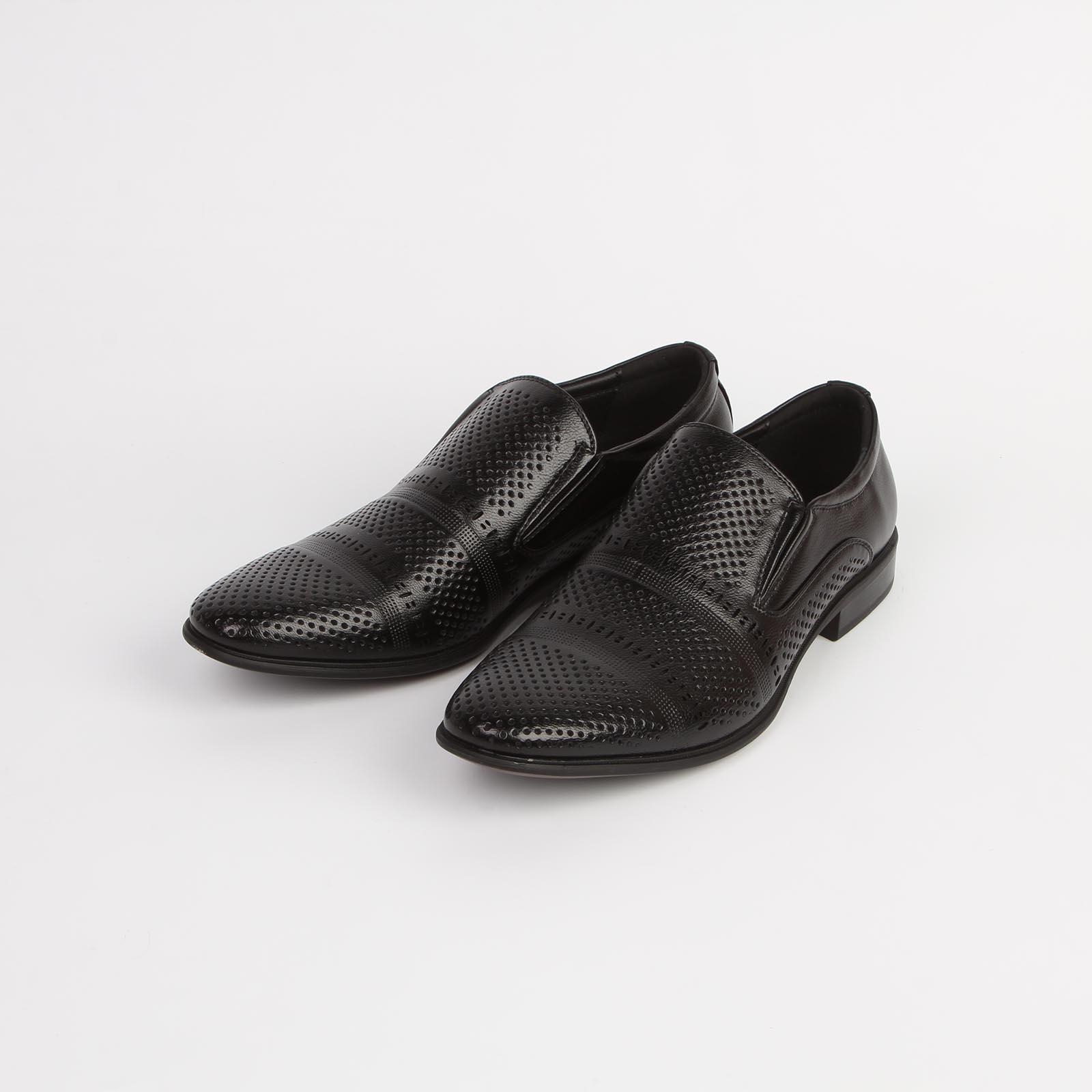 Туфли мужские классические с оригинальной перфорацией