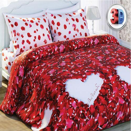 Комплект постельного белья «Лепестки роз»