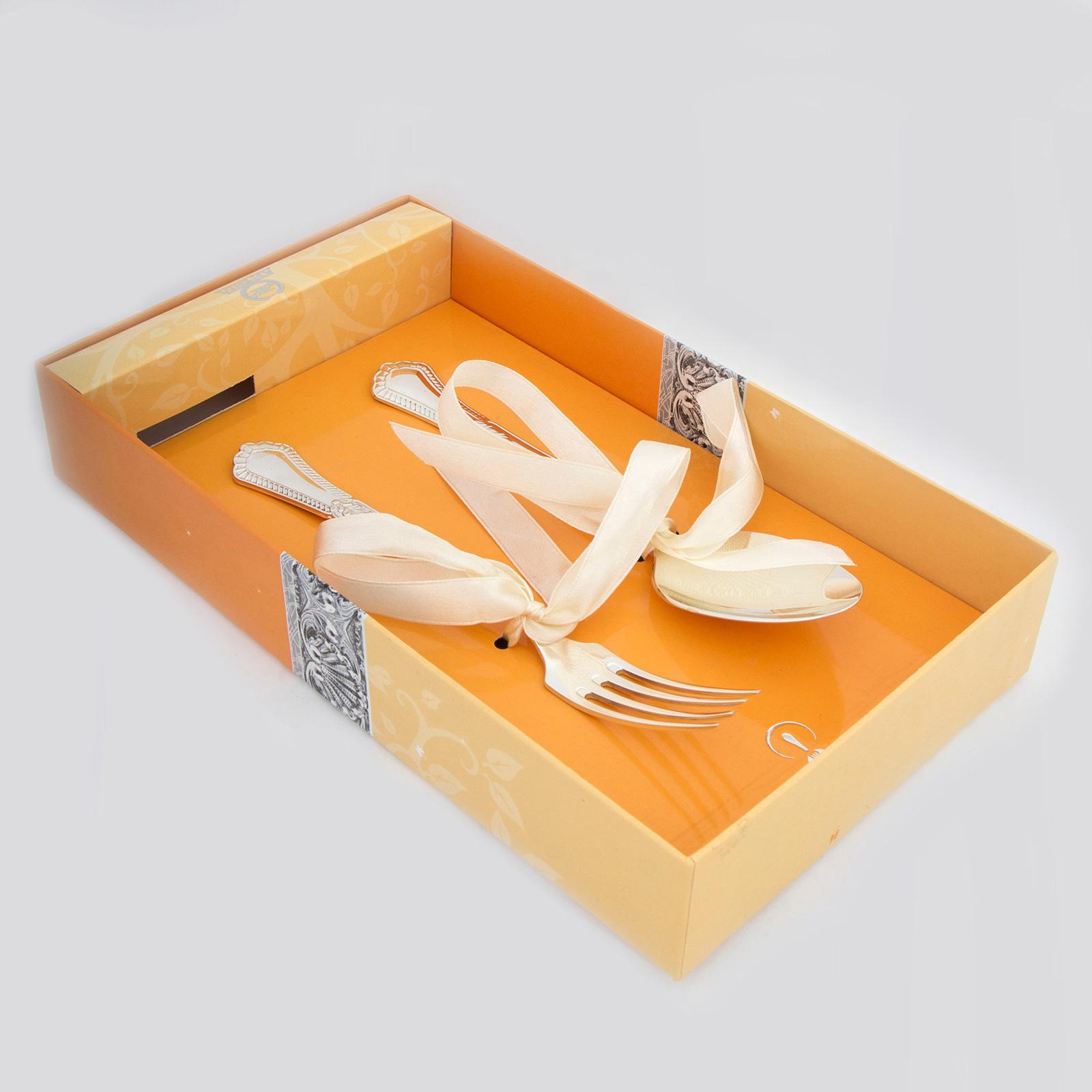 Набор десертный «Фаворит» ложка + вилка