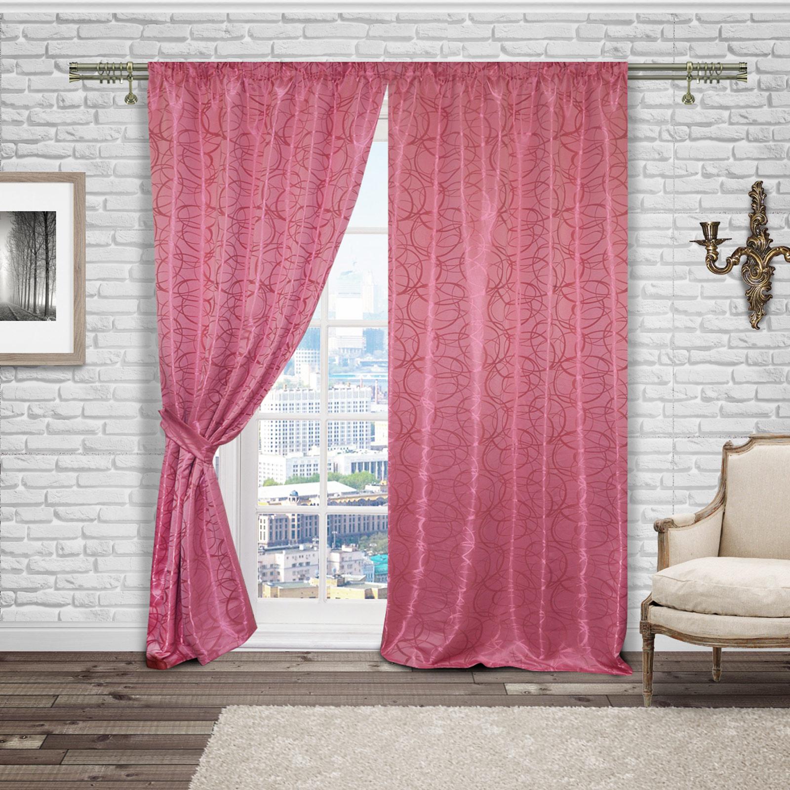 Комплект штор «Розовая мечта»