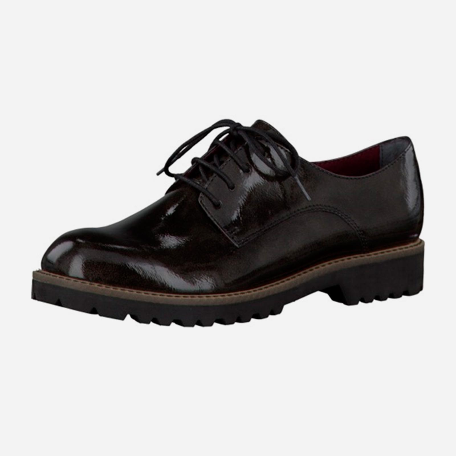 Ботинки женские классические на шнурках