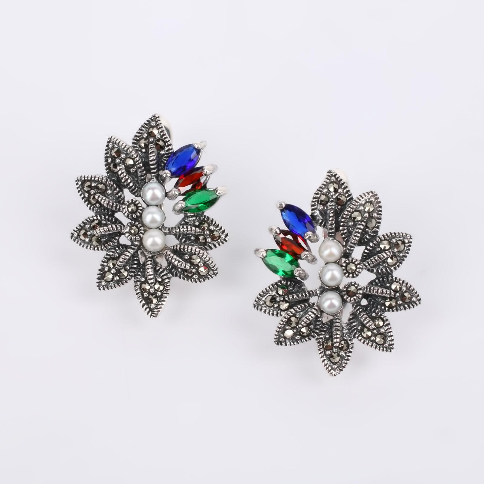 Серебряные серьги Норгис silver wings silver wings серьги 22ae2227gs r 148