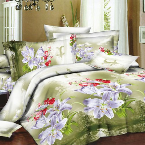Комплект постельного белья «Шарм белой лилии»