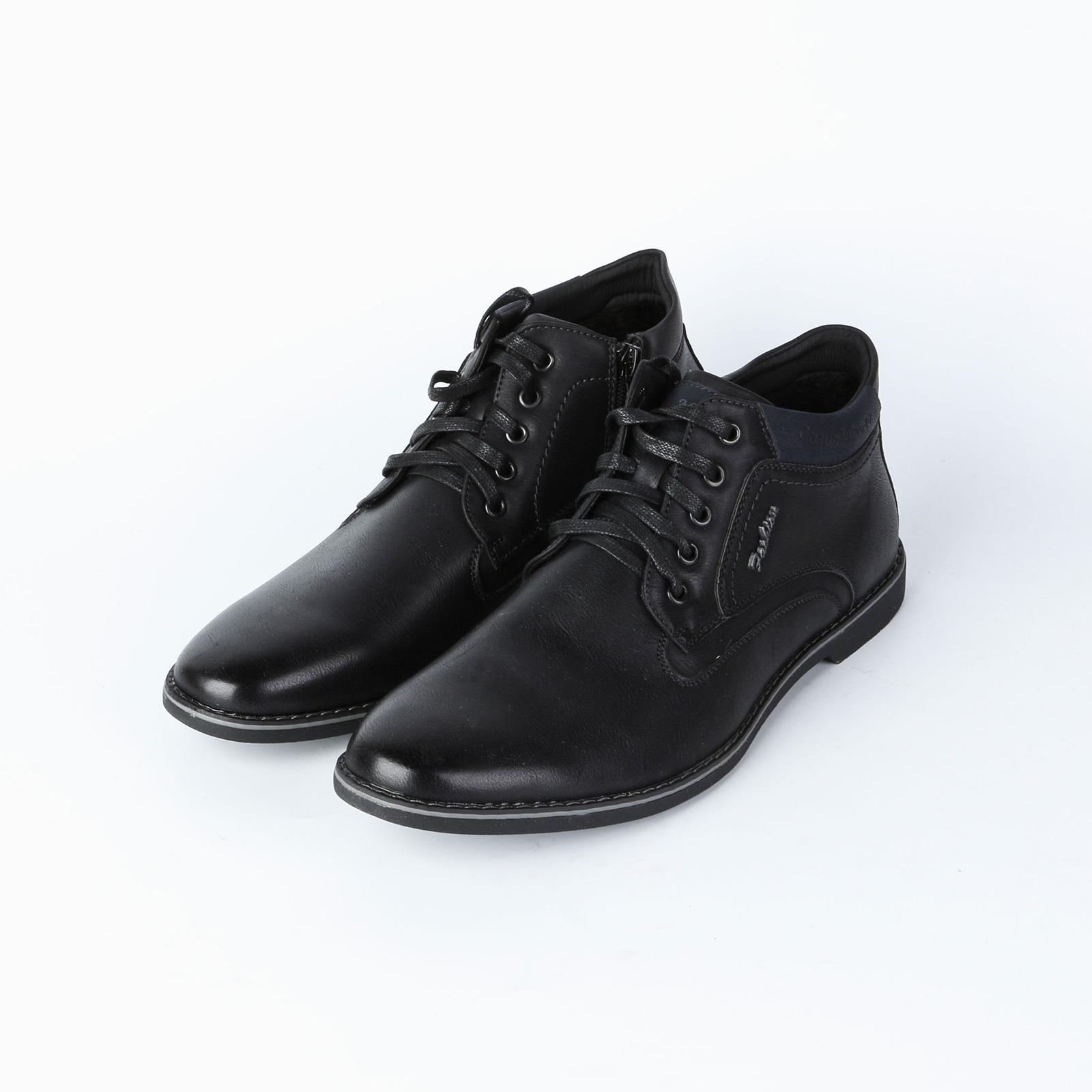Ботинки мужские на шнуровке