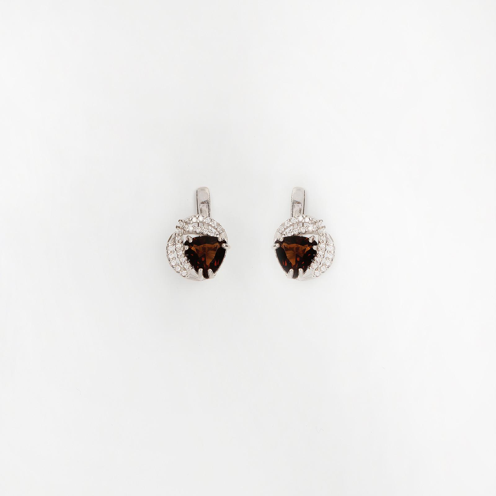 Серебряные серьги «Магия»