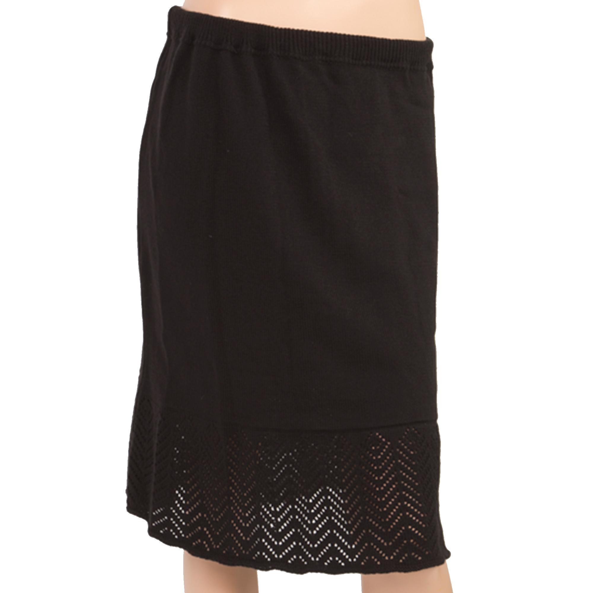 Вязаная юбка на резинке