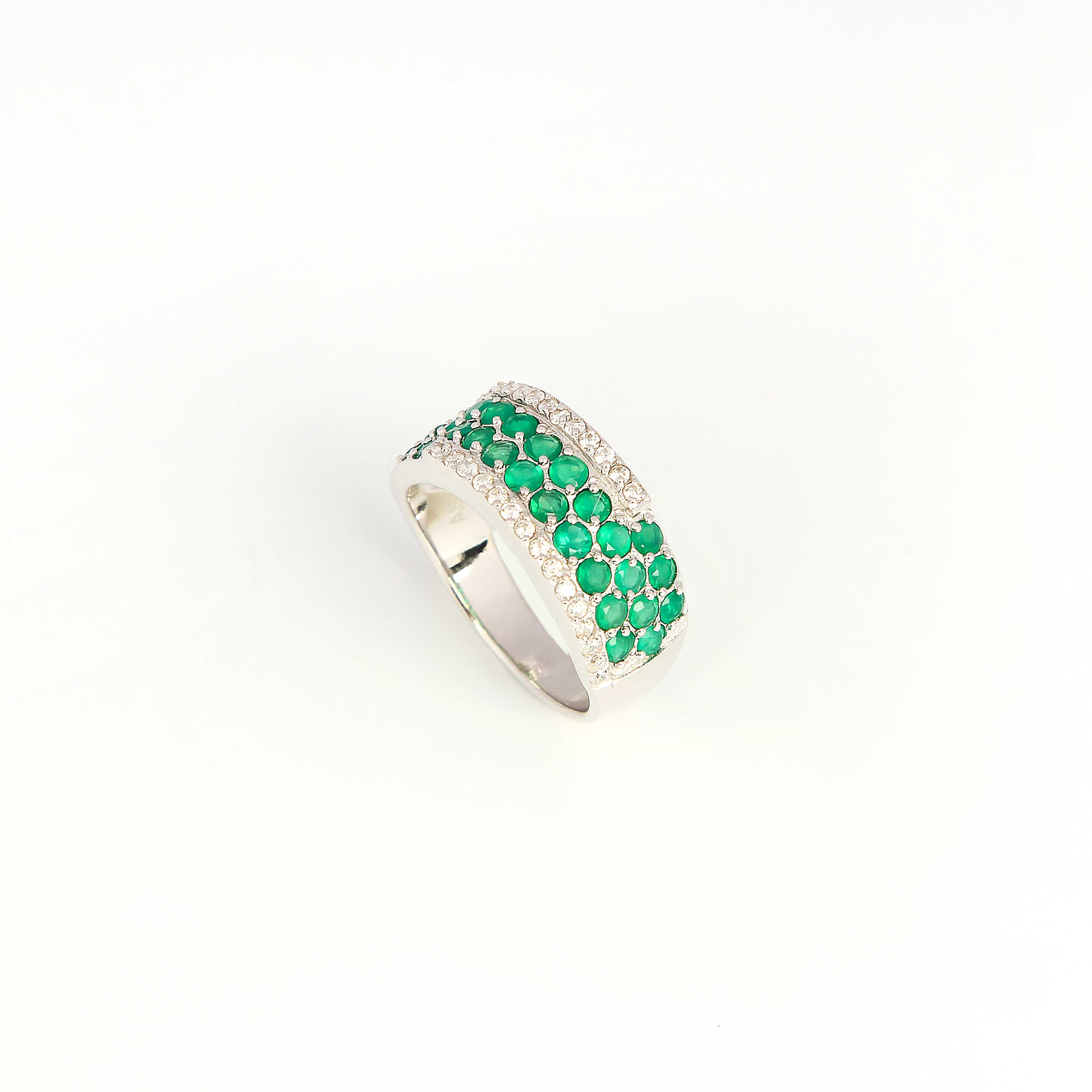 Серебряное кольцо «Весеннее цветение»