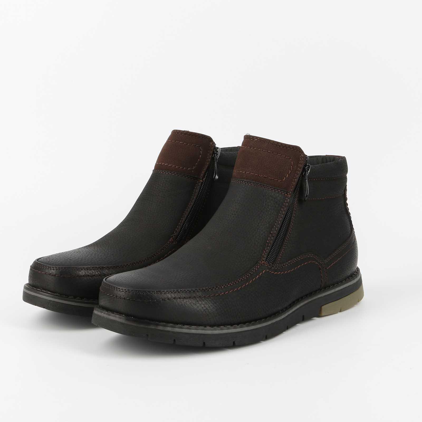 Ботинки мужские на комфортной колодке
