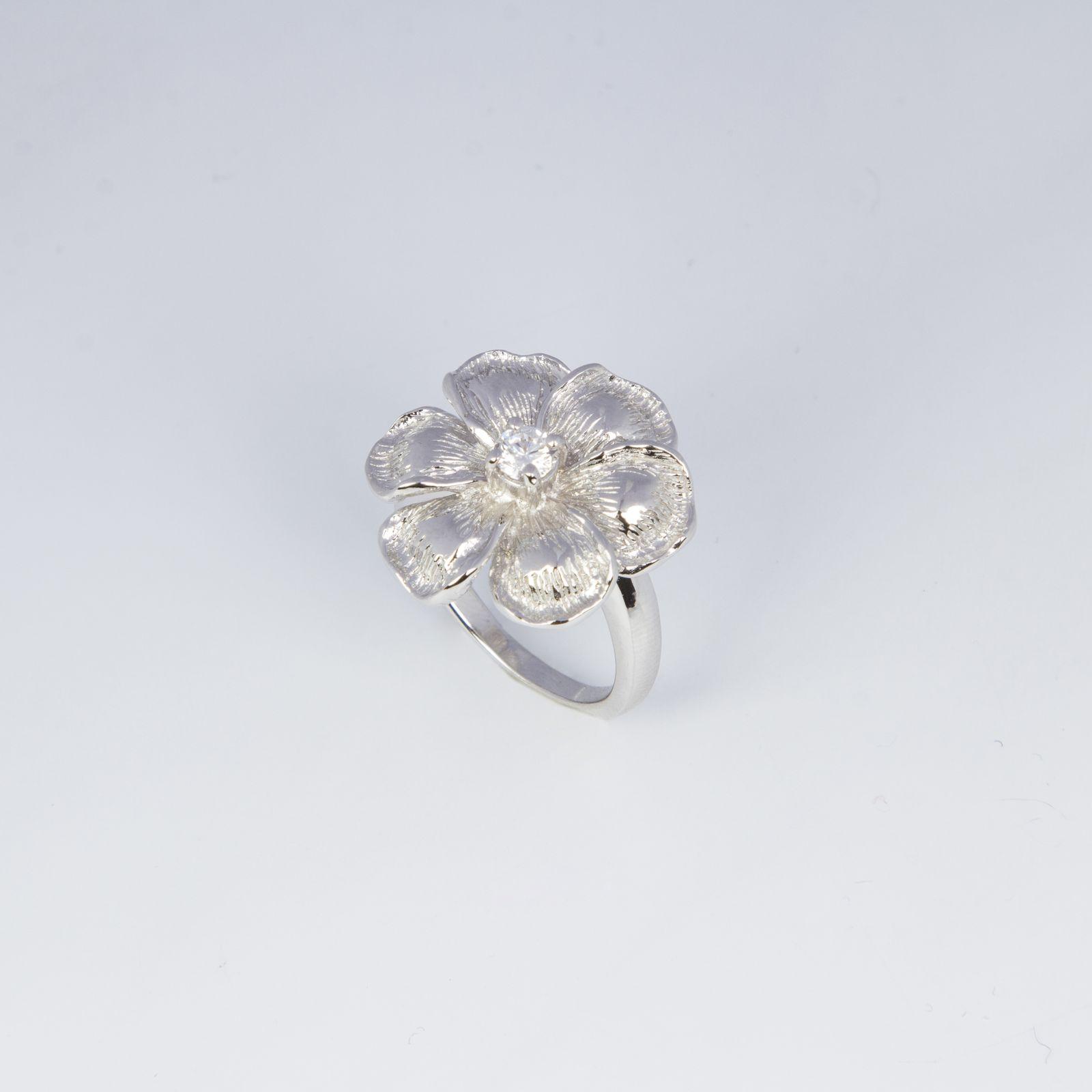 Кольцо «Серебряная ромашка»
