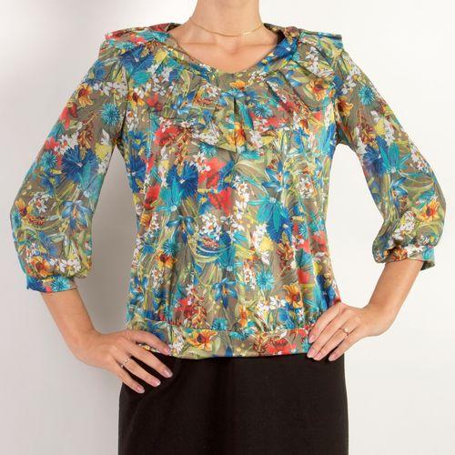 Блуза «Васильки»