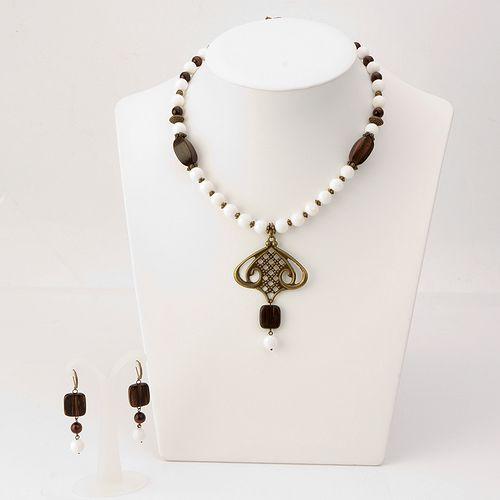 Комплект украшений «Аромат корицы»