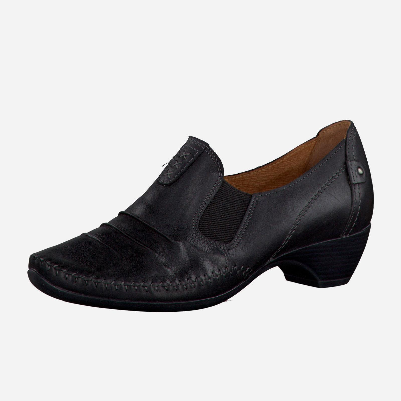 Туфли жeнские с эластичной вставкой