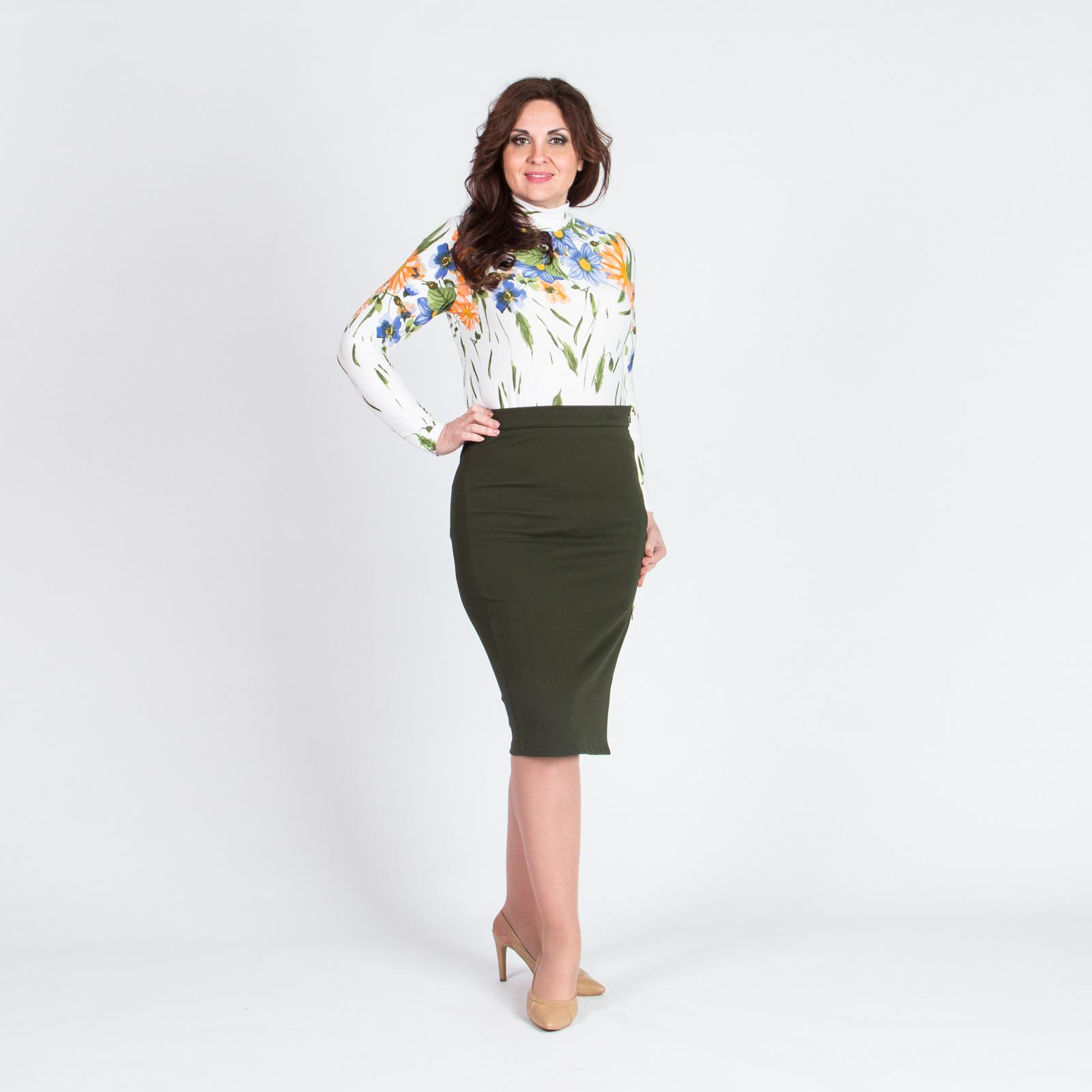 Блуза классического кроя