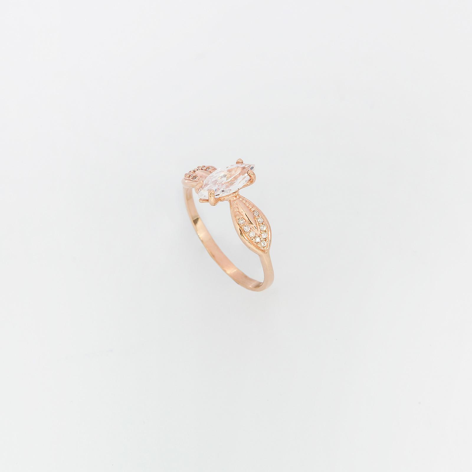 Серебряное кольцо «Шарлотта»