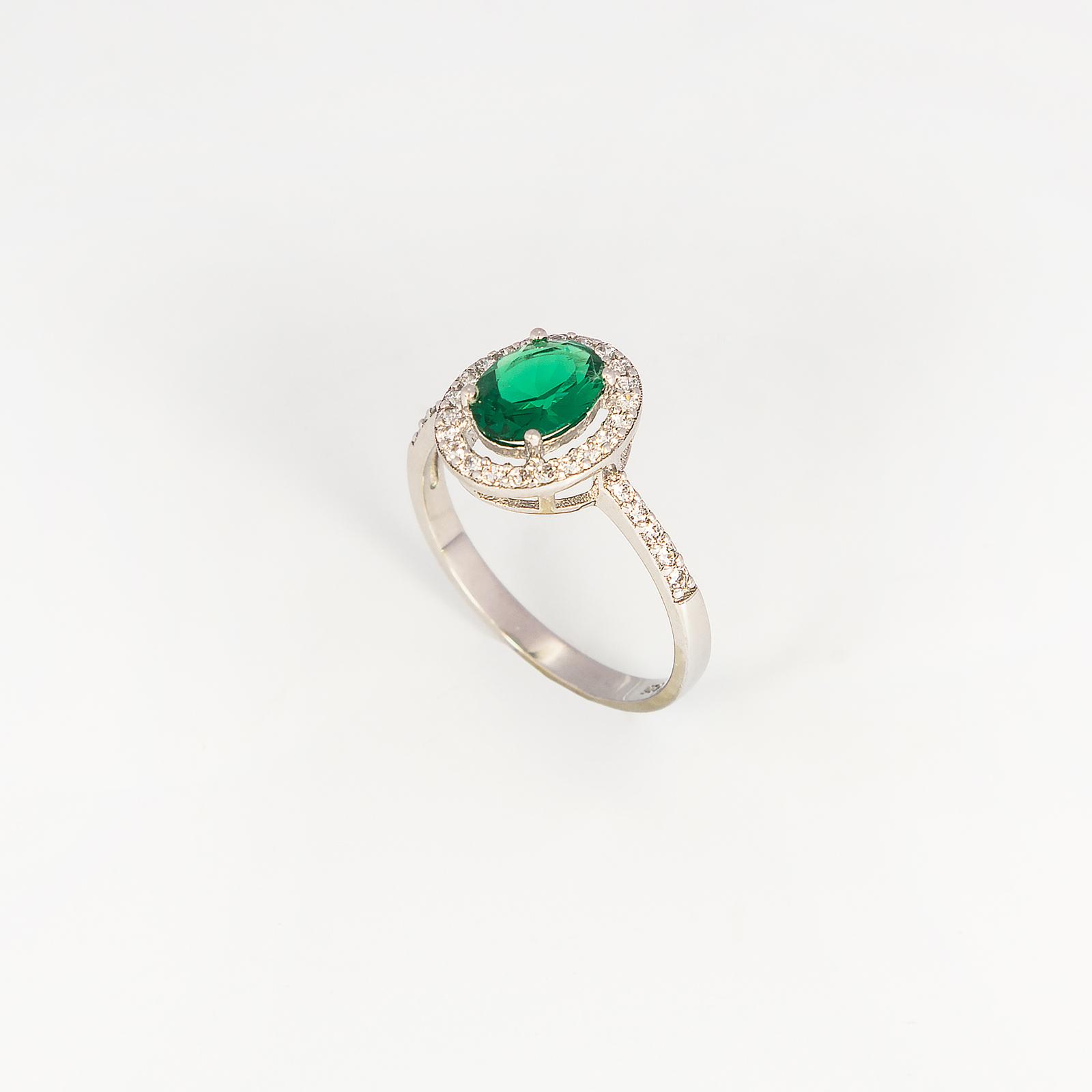 Серебряное кольцо «Джина»