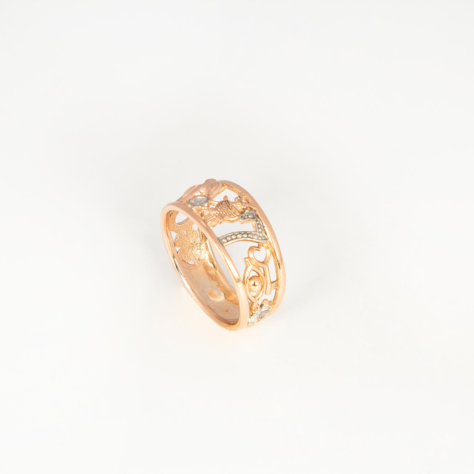 Серебряное кольцо счастья