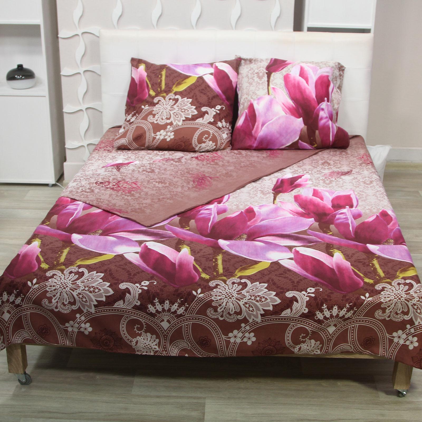 Комплект постельного белья «Райская магнолия» + кондиционер