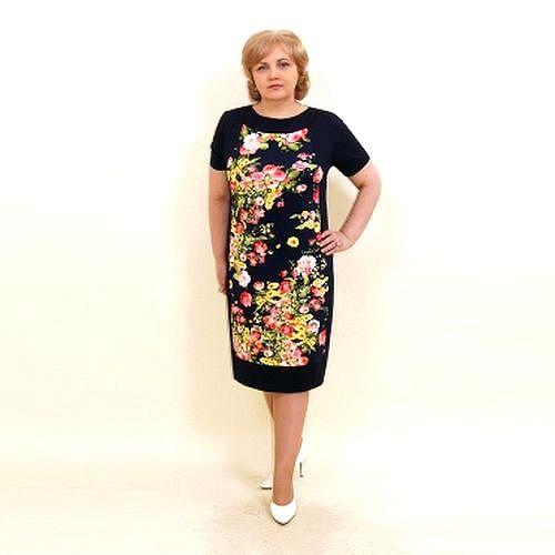 Платье «Цветочный сад»