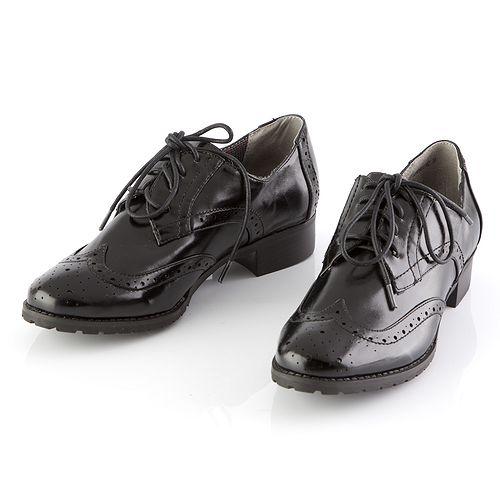 Полуботинки женские на шнурках